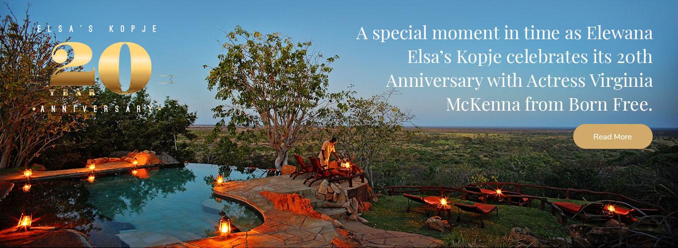 romantic and beautifully styled  safaris in Elewana Elsa's Kopje meru in kenya