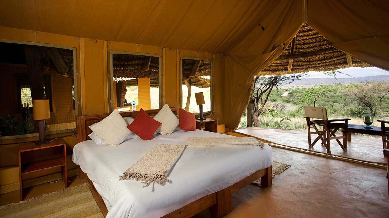 Lewa Safari Camp Family Tent 1