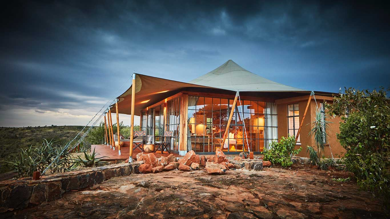 Elewana Lodo Springs accommodation exterior Show Room