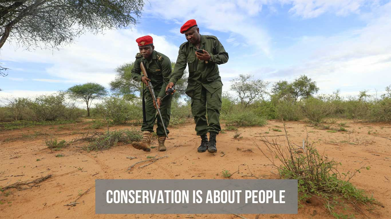 conservation is about people