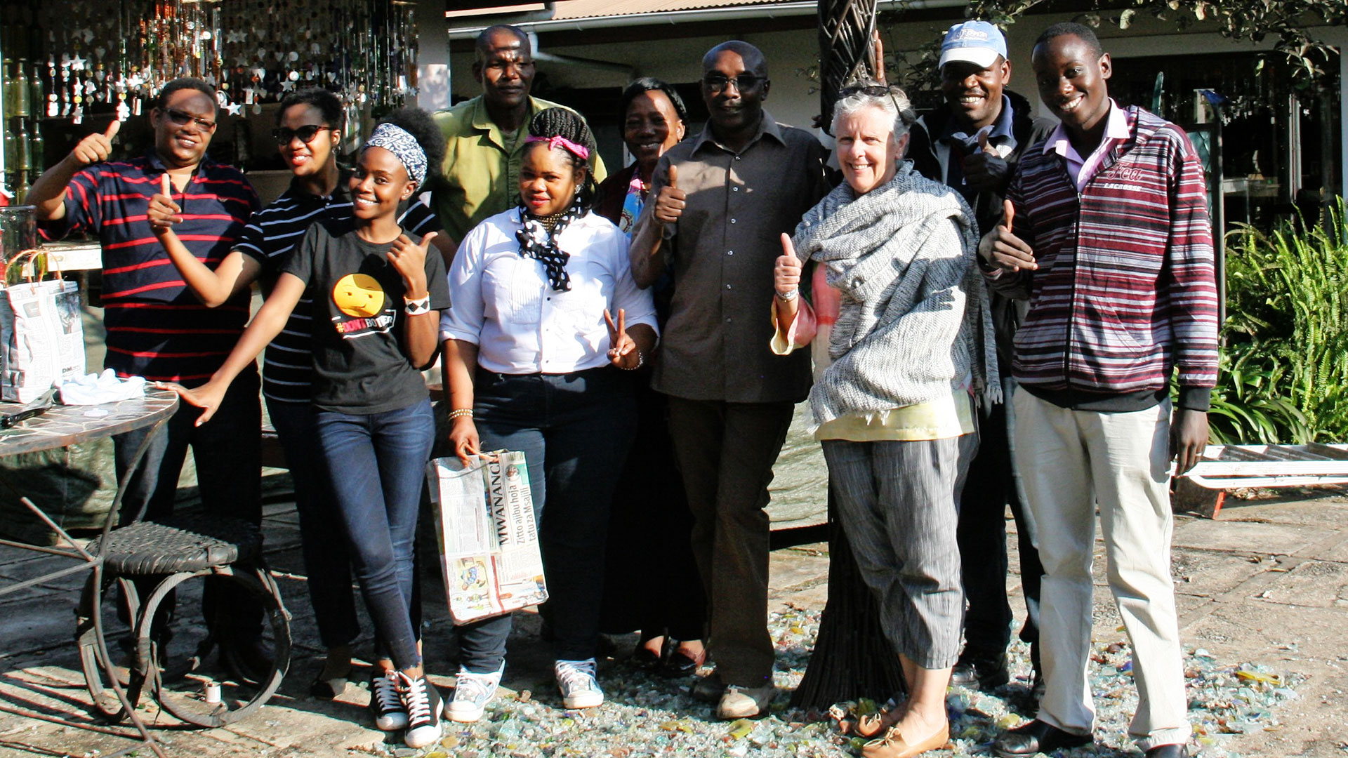 Volunteer Day at Shanga