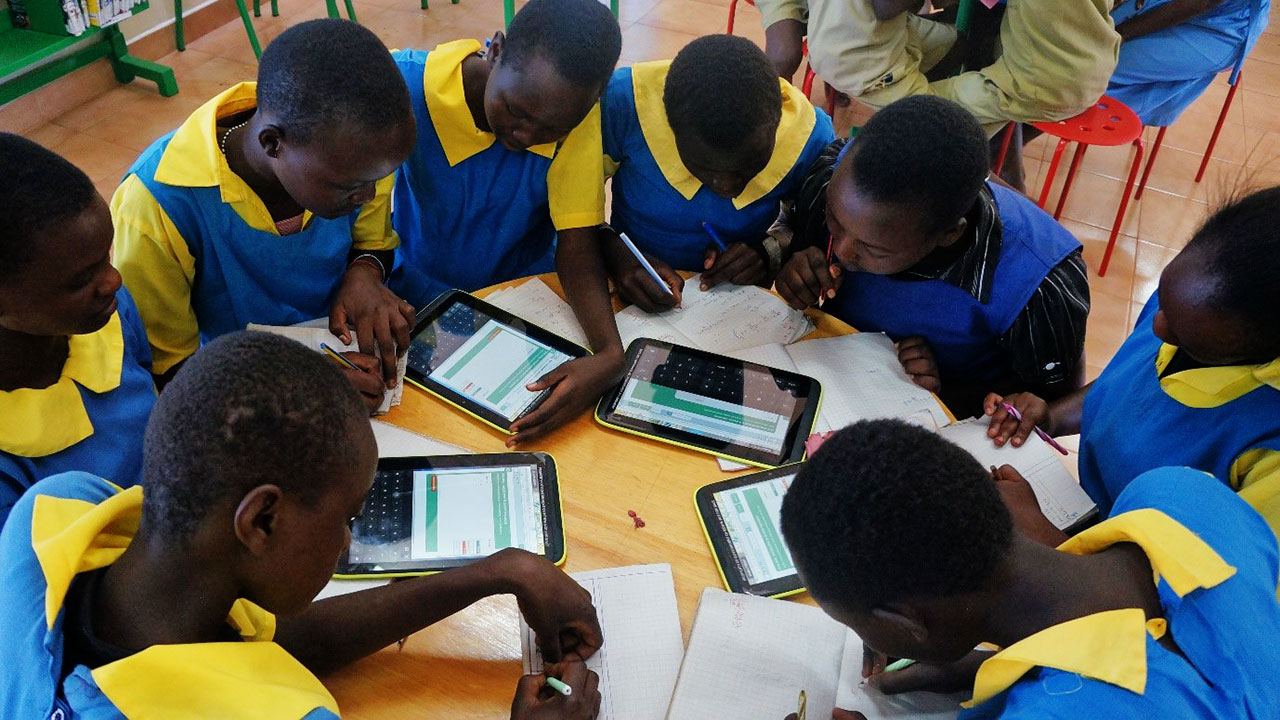 Lewa Primary ICT Session